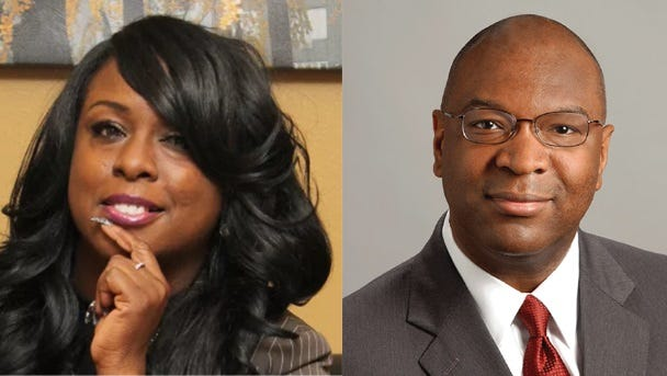 Vontyna Durham (left) and Reginald Milton are vying for the District 10 seat. Milton currently holds the seat.