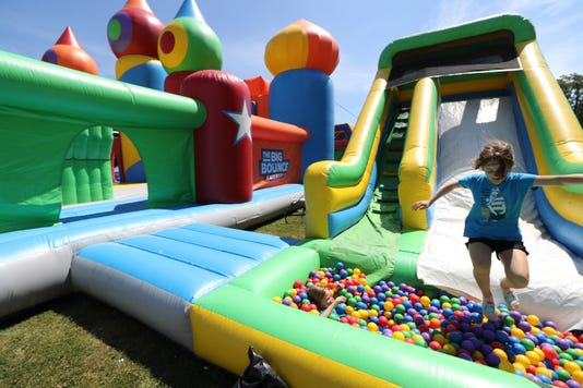Big Bounce America Inflates In Greenfield Park