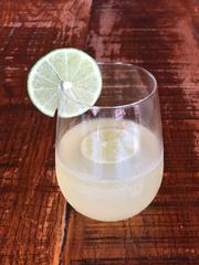Sparkling Margarita at Little Donkey