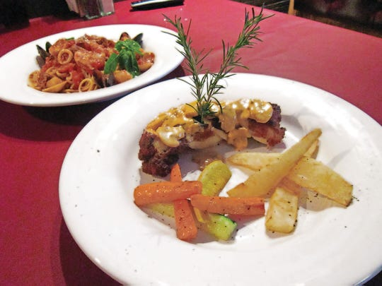 Enjoy Italian food at Massimo's La Tavola.
