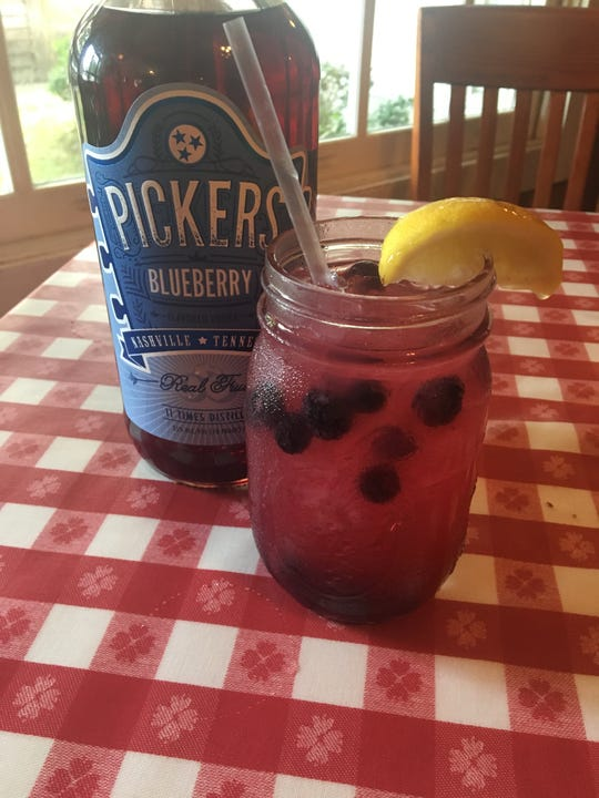 Blueberry Picker at Loveless Cafe