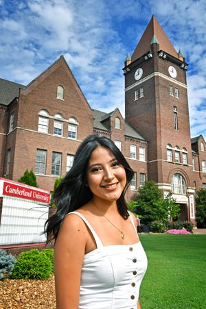 Andrea Chavez is a DACA student who is going to Cumberland University thanks to a scholarship from Equal Chance for Education, a nonprift created by a Republican doctor. The nonprofit is looking to try and send as many DACA students to college as possible and 213 DACA students have scholarships through them.Thursday July 19, 2018, in Lebanon, Tenn.