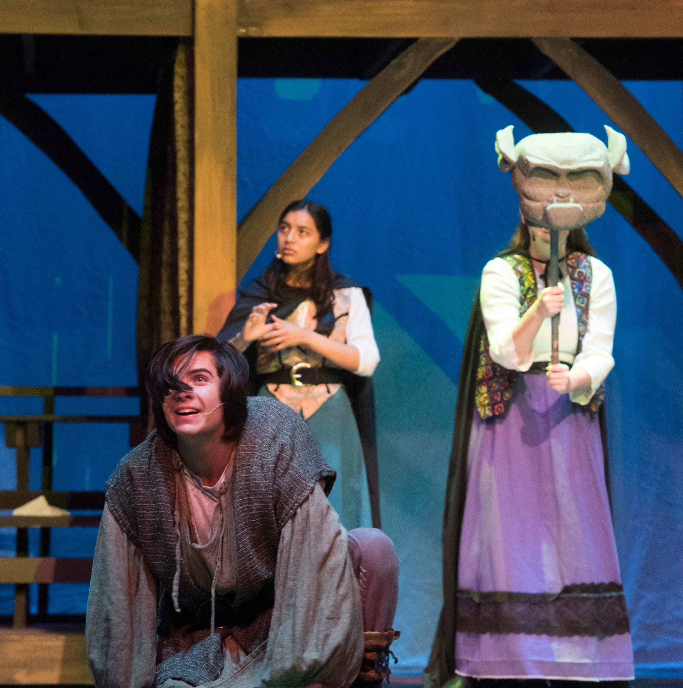 Local teen finds courage in 'Hunchback' role