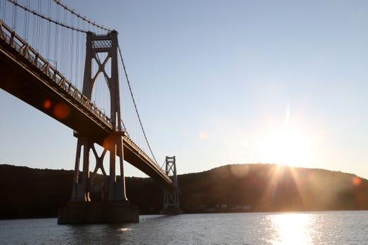Hudson River Mid Hudson Bridge