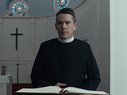 "Ethan Hawke stars in ""First Reformed,"" opening July 20 at Small Star Art House."