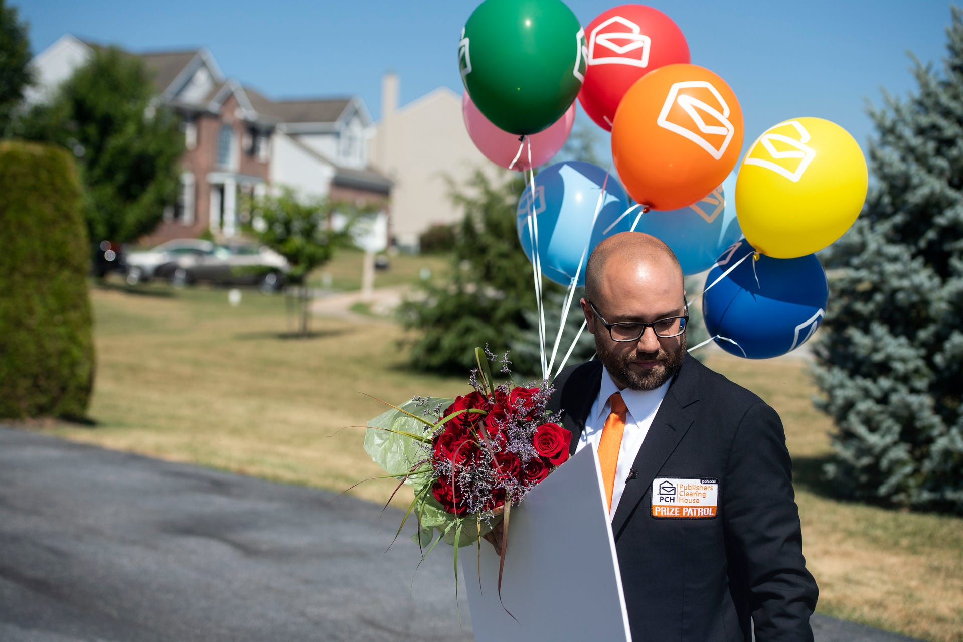 Photos: Publishers Clearing House comes to York County with