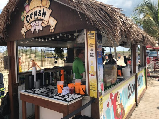 Coconuts Beach Bar & Grill, located in Ocean City, has a bar dedicated to serving crushes. July 18, 2018.
