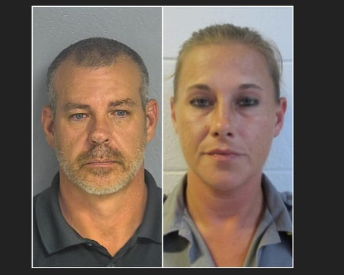 Texas County sheriff charges - James Sigman and Jennifer Tomaszewski