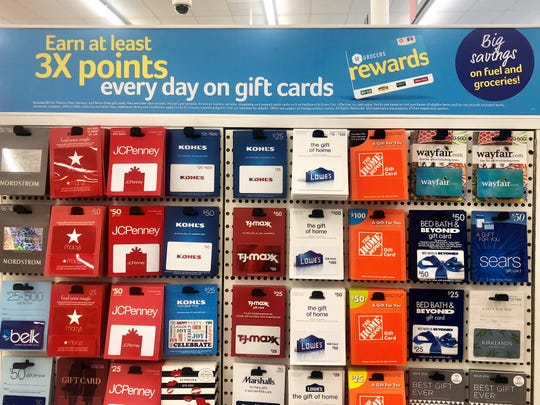 With SE Grocers Rewards, earn extra points on gift card purchases.