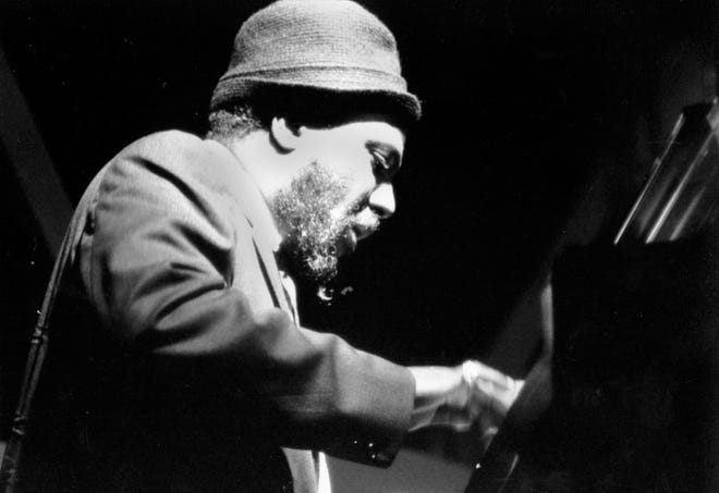 **FILE** Jazz pianist Thelonious Monk performs at the Newport Jazz Festival in Newport, R.I., in this July 5, 1963, file photo.  Monk, whose North Carolina roots were evident in his music and his accent long after he moved to New York, will be the focus of an 18-event tribute opening on Sept. 15, 2007, at Duke University.  (AP Photo )