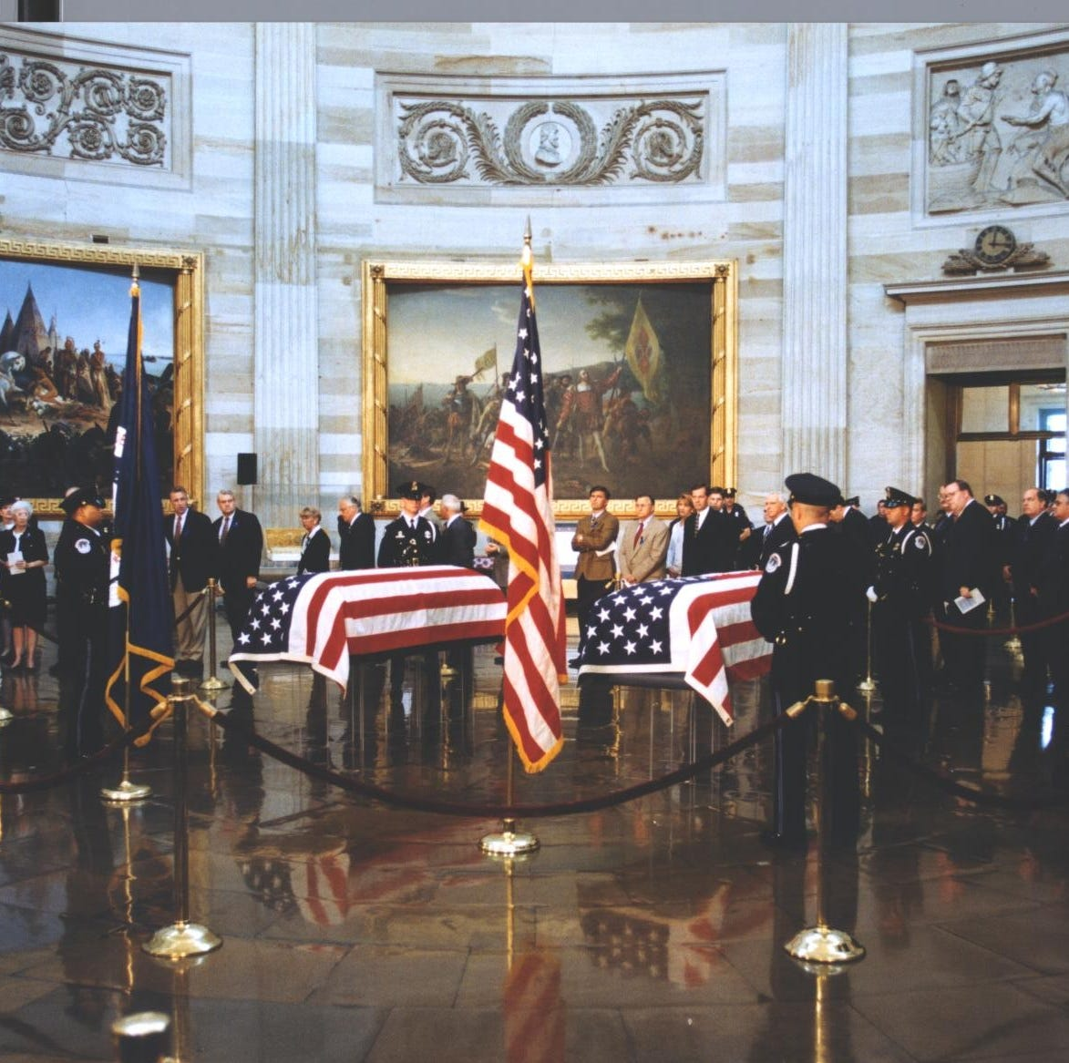 It is 20 years since the US Capitol shooting. I still remember the kindness of the officer who died.