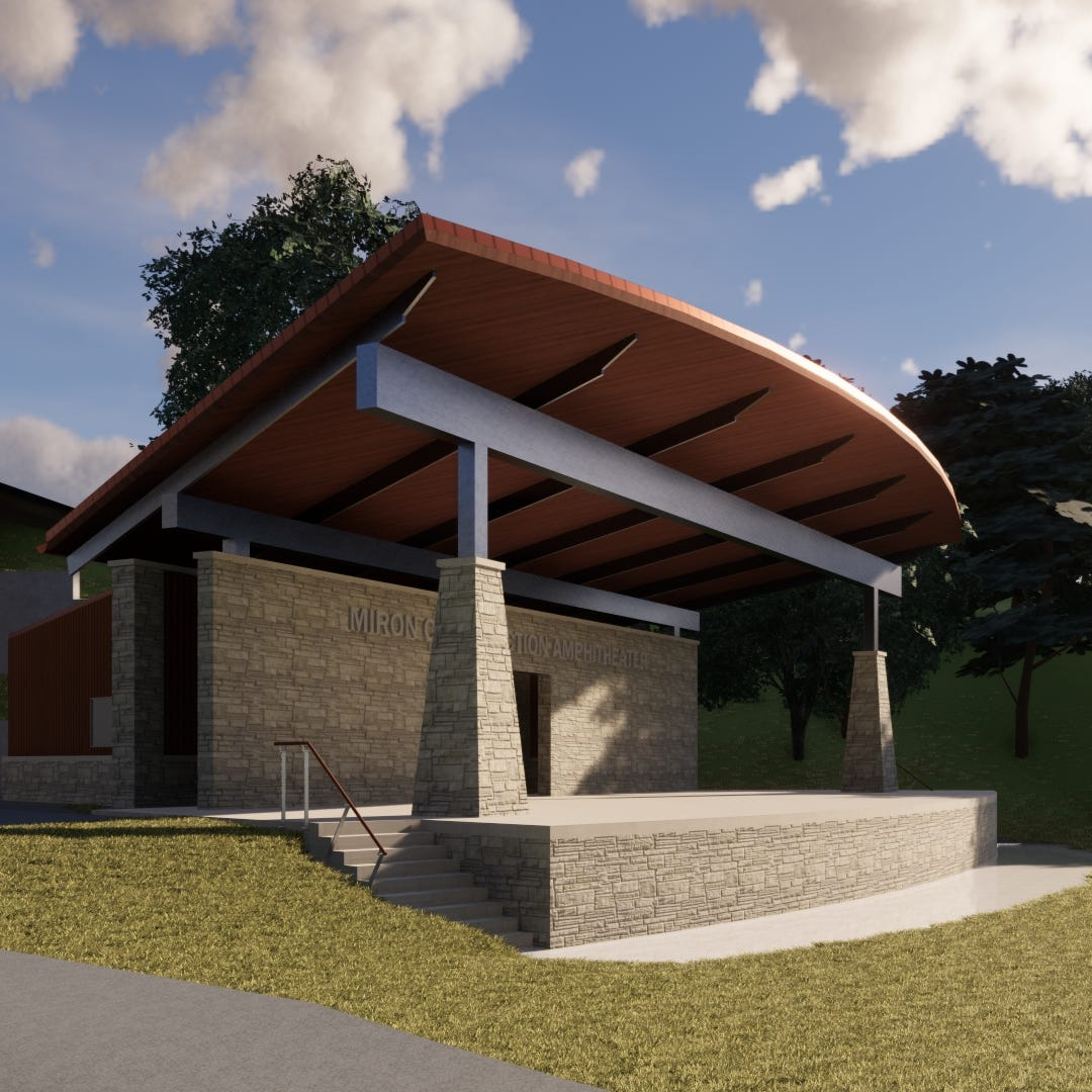 Miron Construction donates 2,600-square-footamphitheater to Jones Park in downtown Appleton