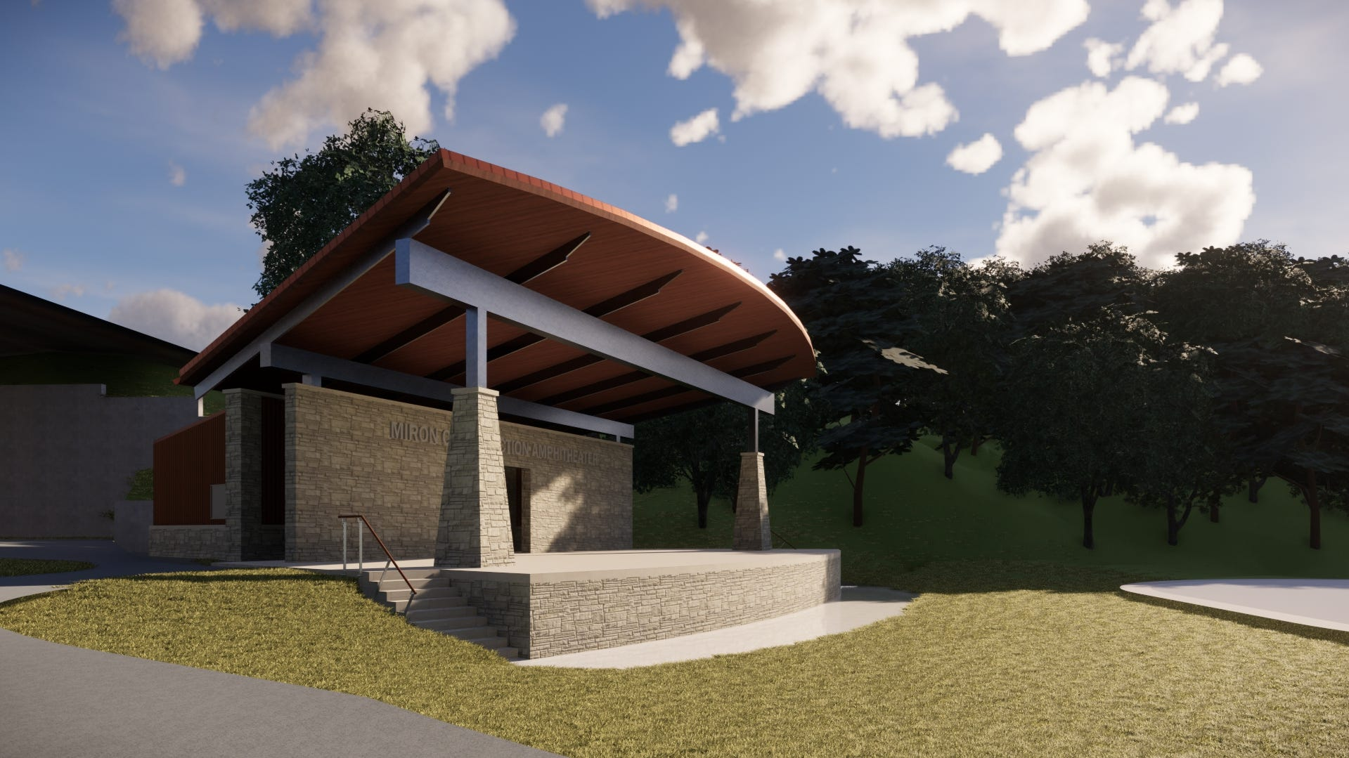 Miron Construction donates 2,600-square-foot amphitheater to Jones Park in downtown Appleton