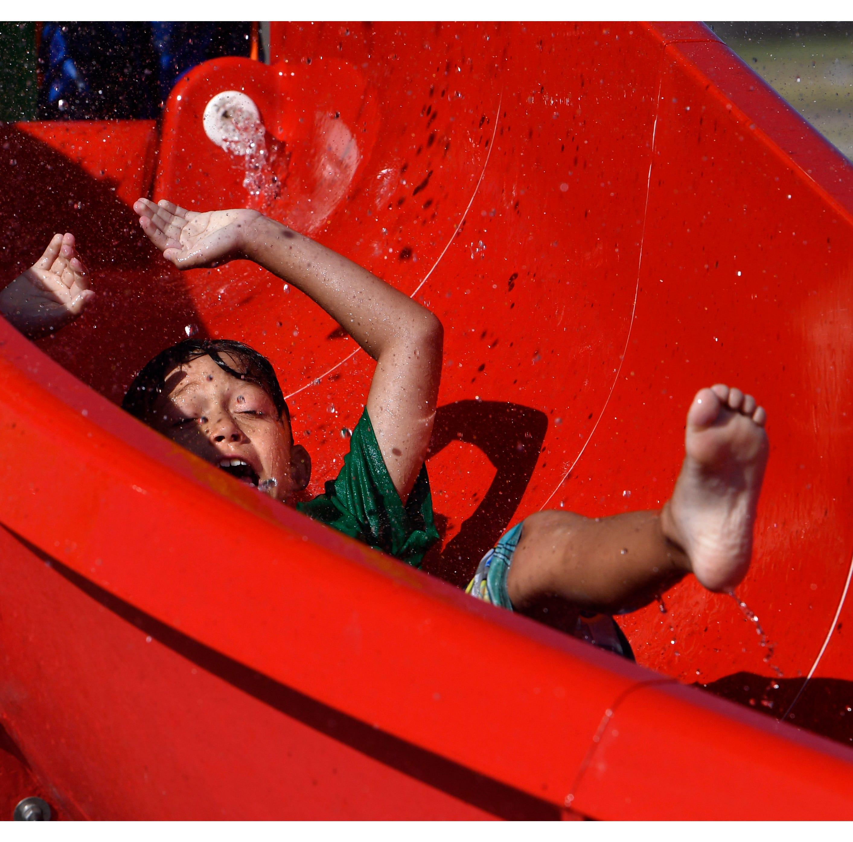 Abilene's Redbud Park Splash Pad grand opening