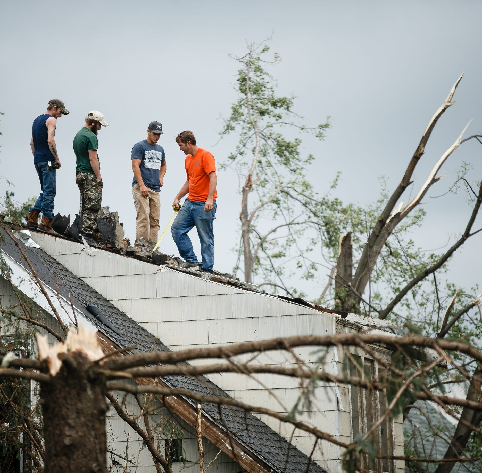 'It's like a war zone': Iowans thankful to be alive in 3 towns hit by tornadoes
