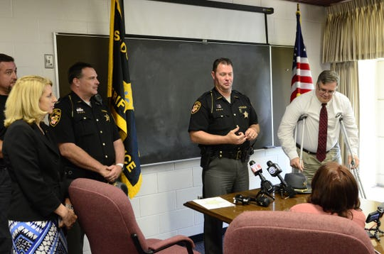 Sandusky County Sheriff Chris Hilton announced at a news conference in June 2017 that Daniel Myers, 48, of Green Creek Township was arrested and charged with aggravated murder, aggravated robbery and kidnapping in the 2015 homicide of Heather Bogle.