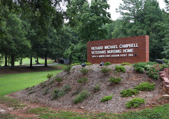 Richard M. Campbell Veterans Nursing Home in Anderson County is one of two state-owned South Carolina nursing homes for veterans managed by HMR Veterans Services Inc. of Anderson.