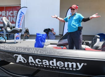 Greenville man wins bass boat