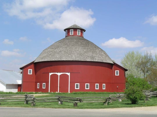 The Round Barn Theatre at Amish Acres in Nappanee gives visitors a glimpse of Amish life on the farm.