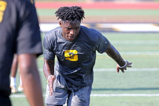 Starkville running back Rodrigues Clark ran for over 1,700 yards as a junior, after two injuries ended his first two seasons of high school football.