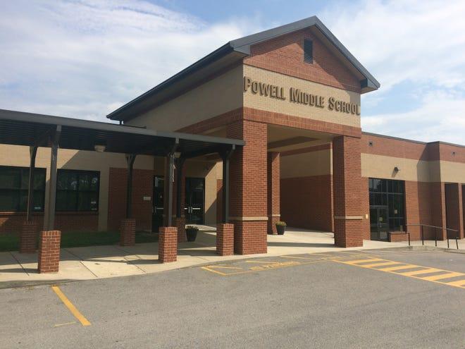 Powell Middle School in 2018