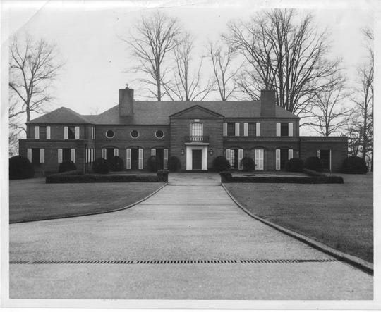 The Eugenia Williams home, 4848 Lyons View Pike, Feb. 8, 1957.
