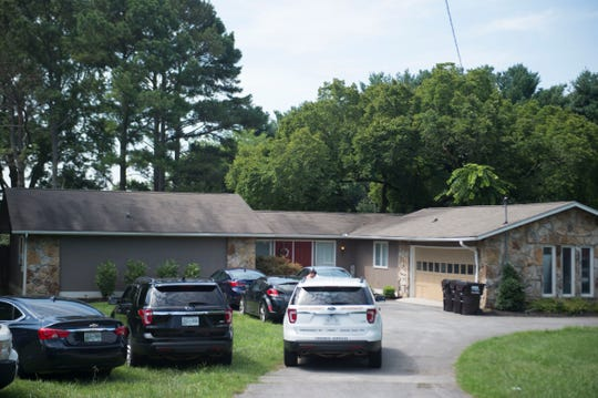 The home at 8836 Fox Lonas Road in West Knox County where twin toddlers drowned in a backyard pool Friday, July 20, 2018.