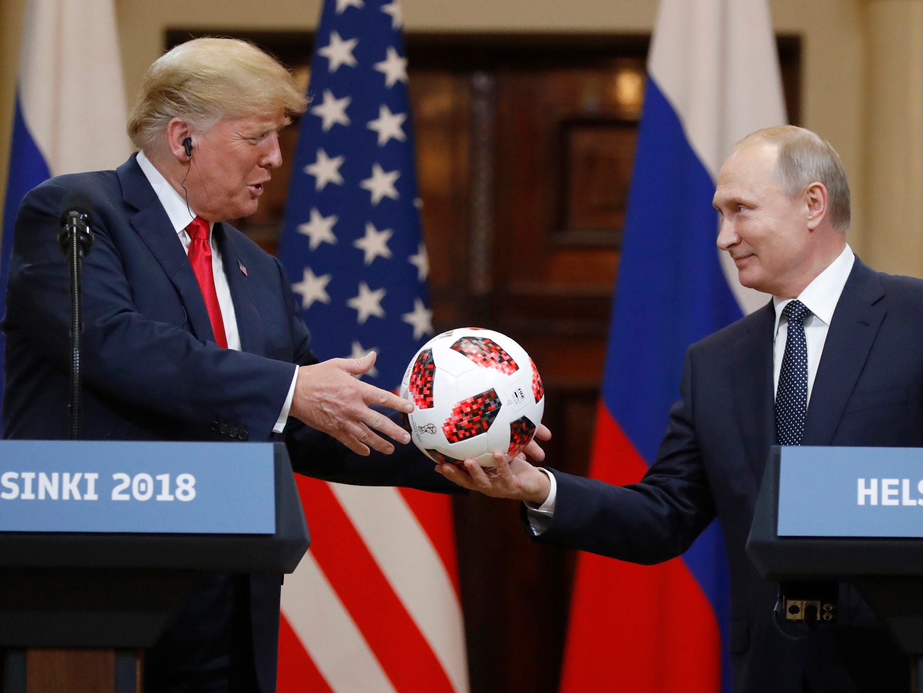 Letter: Collusion: Would Trump or wouldn't Trump?
