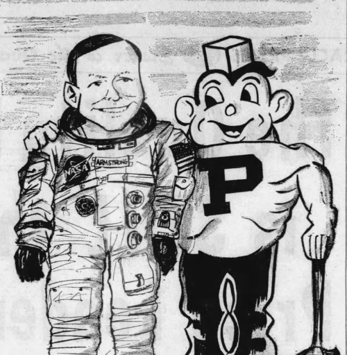 'From Purdue to the moon:' Here's how excited we were in 1969 for Neil Armstong's lunar landing