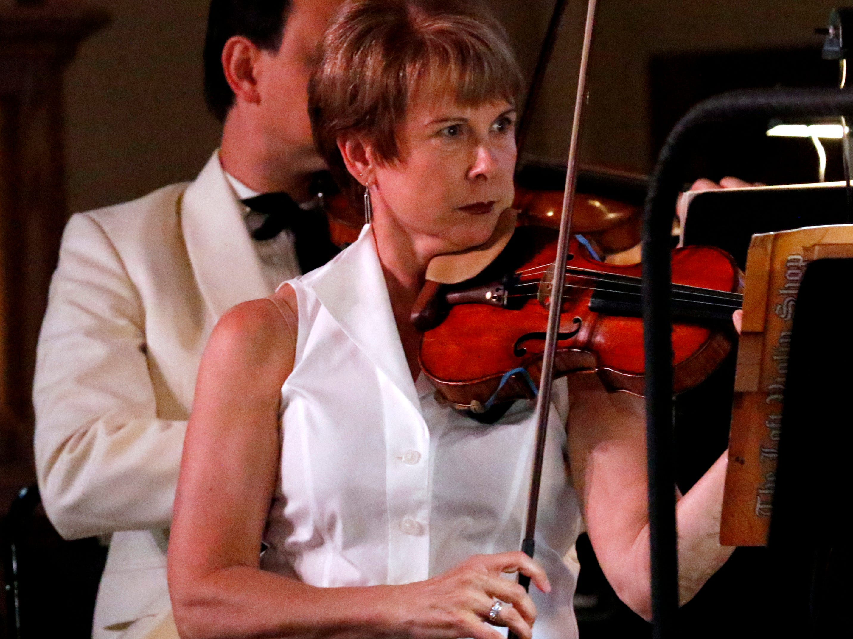 The Lancaster Festival Orchestra performs Thursday night, July 19, 2018, during the opening night concert at St. Mary of the Assumption Roman Catholic Church in downtown Lancaster.