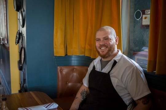 Chef Paul Skulas inside Couvillion.