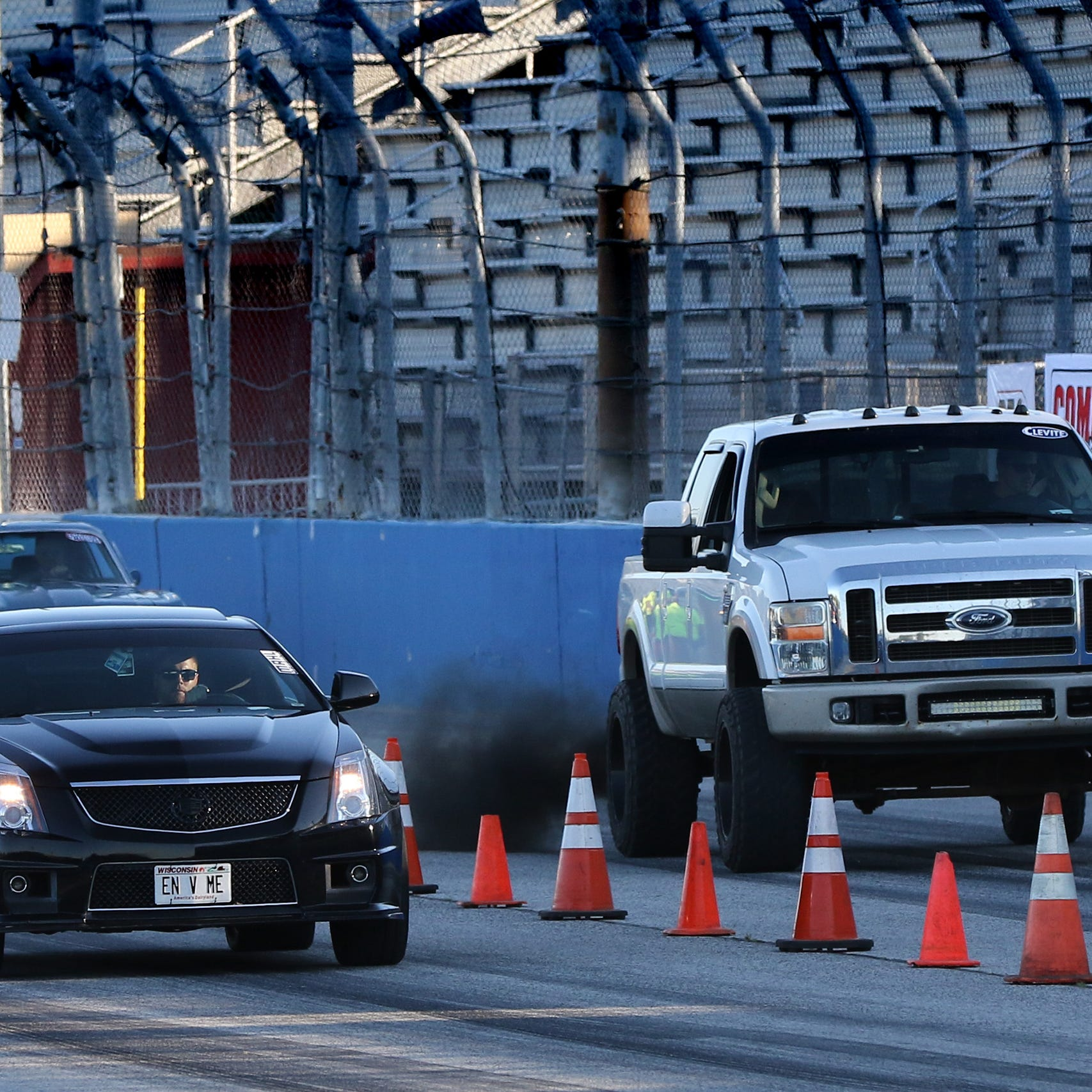 Promoters push legitimate drag racing while Milwaukee fights a problem on its streets