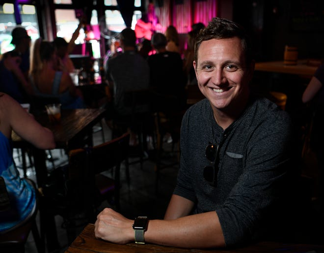 "Bach Weekend founder Robbie Goldsmith will have his company featured in a new CMT reality show ""Bachelorette Weekend"" airing on CMT. Photographed at The Valentine Friday, July 20, 2018, in Nashville, Tenn."