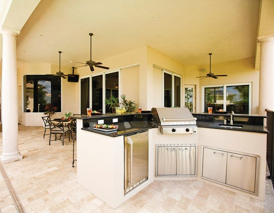 Have a professional check the patio or deck where you plan on building your outdoor kitchen. While most can support the additional weight, you may need to add structural support.