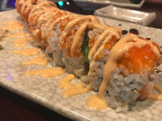 Raw or cooked sushi aren't in short supply at Hibachi of Japan at the intersection of Airport Pulling and Pine Ridge roads in Naples. The popular raw party roll ($9) comes with tuna, salmon, shrimp, avocado, cream cheese and spicy mayo on top.