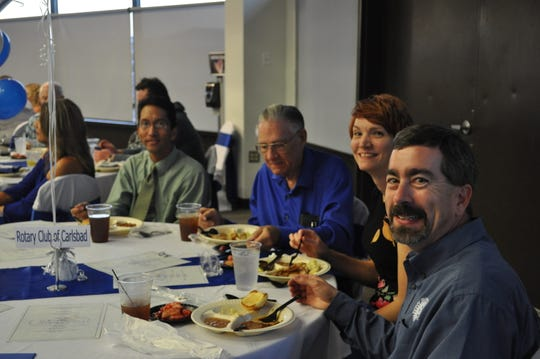 Carlsbad Chamber of Commerce's annual banquet honored local businesses.