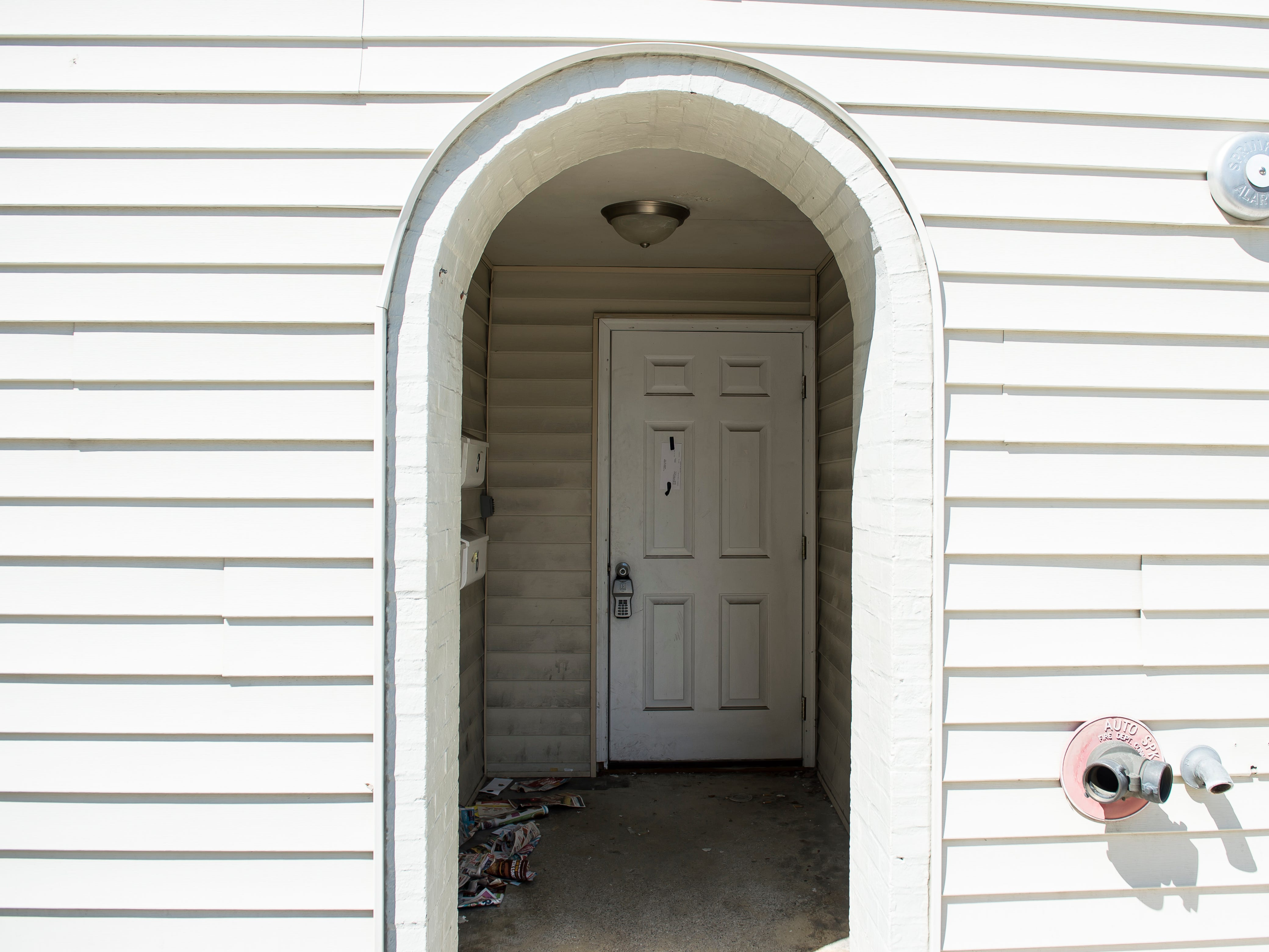 A baby girl's body was found concealed in a chest inside a home in the first block of York Street in 1801.