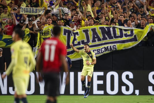 Manchester United V Club America International Champions Cup 2018