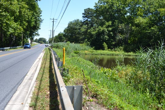 Wicomico County officials are getting ready to rehabilitate Morris Mill dam which will involve closing this section of South Division Street near Fruitland.