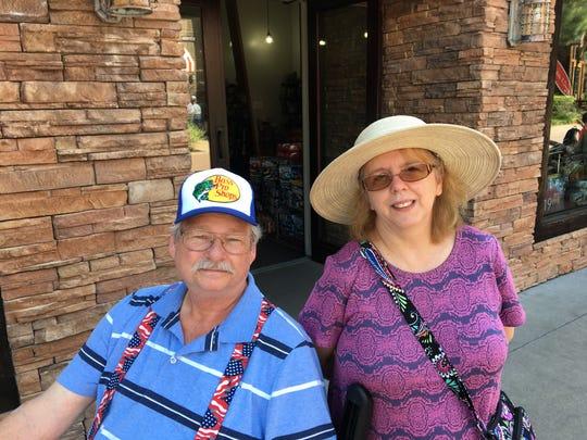 Ron and Teresa Stufflebean