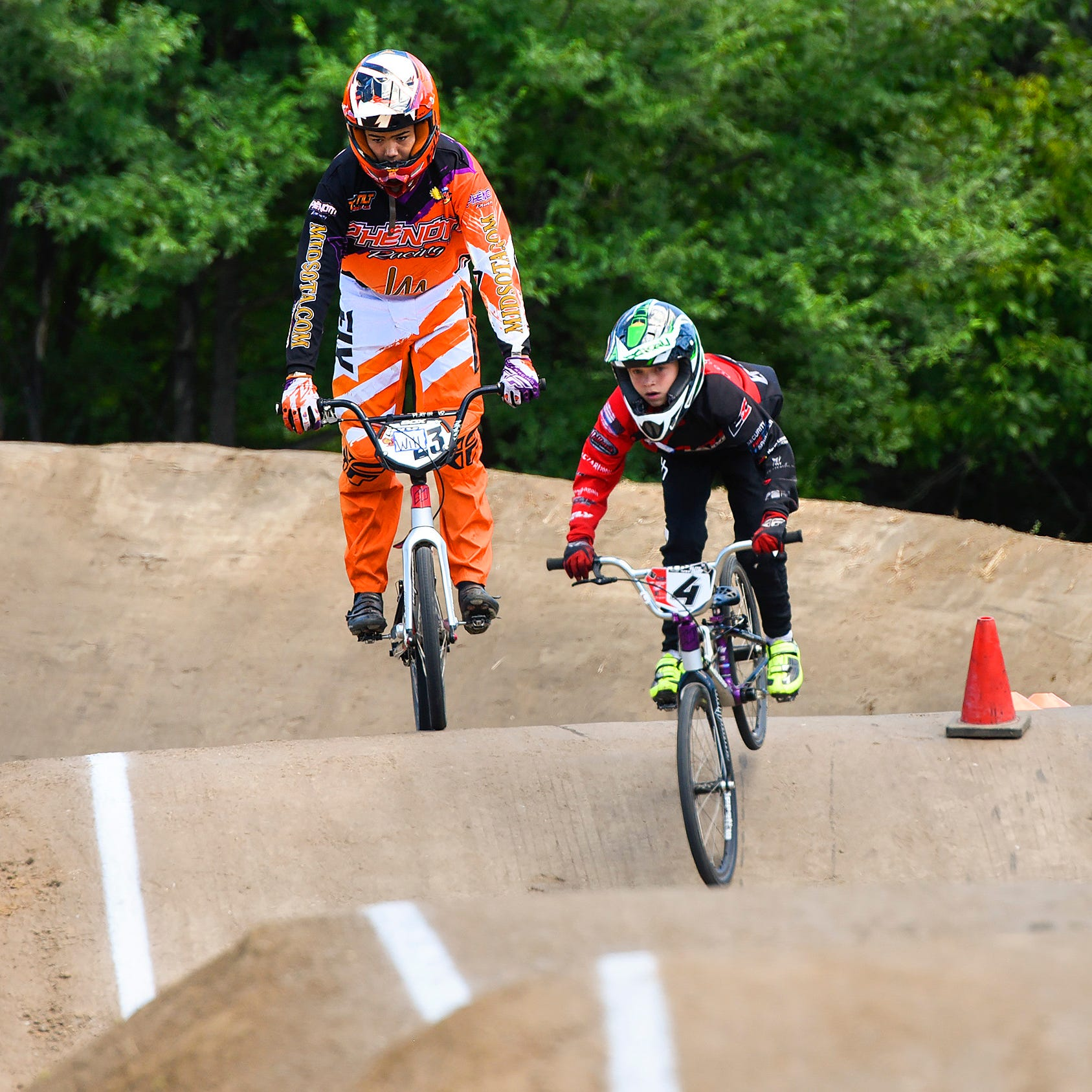 Pineview Park BMX grows on a promise and a little white lie