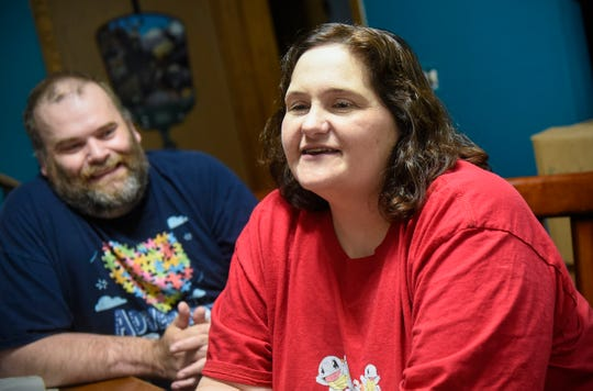 Cathie and Glenn Ahrensfeld talk about their upcoming role in a puzzle competition at the Mall of America this weekend to raise funds for autism support.