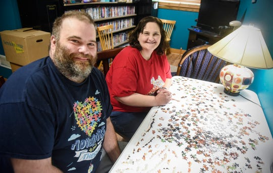 Cathie and Glenn Ahrensfeld are going to be part of a puzzle competition fundraiser at the Mall of America this weekend to raise funds for autism support.