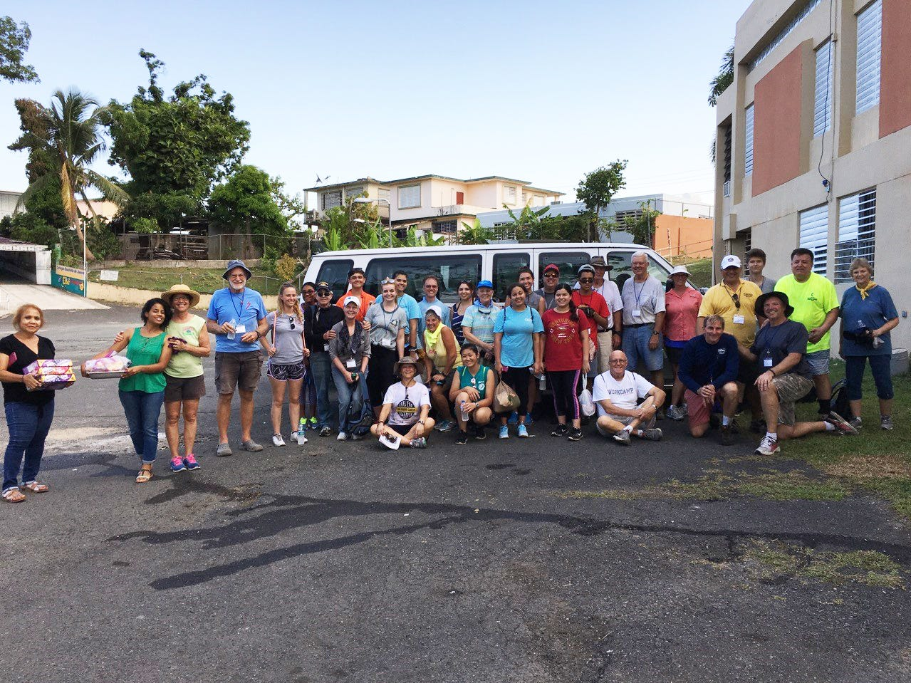 The Mission group from Indian River County in Juncos, Puerto Rico.