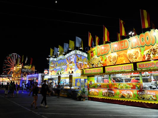 Delaware State Fair: Fried tacos, fried burgers and gator