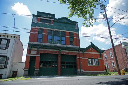 The old fire station on Gilpin Avenue in the 40 Acres neighborhood is on the National Register of Historic Places.