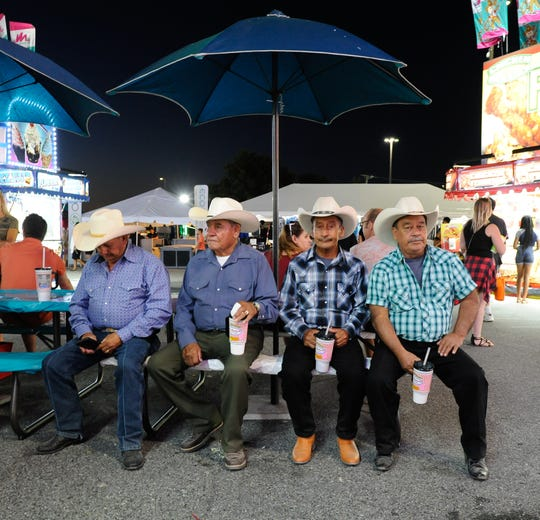 First day of the 99th annual Delaware State Fair in Harrington.