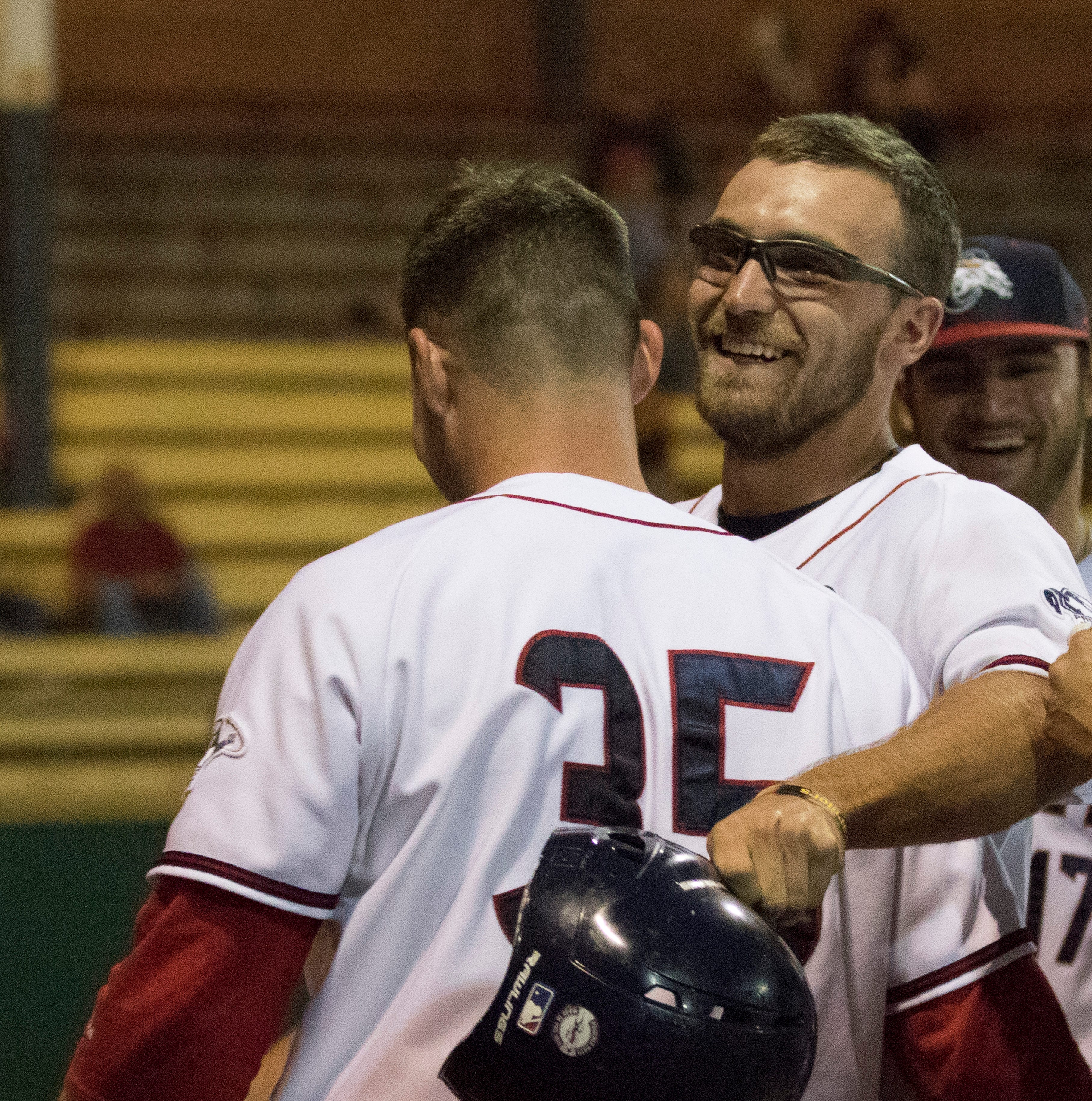 Paints rain victorious; Roberts homer wins game 2-1