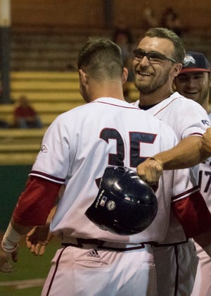 Chad Roberts fifth-inning home run led the Chillicothe Paints to a 2-1 win over the Butler BlueSox July 20, 2018, at the VA Memorial Stadium in Chillicothe.