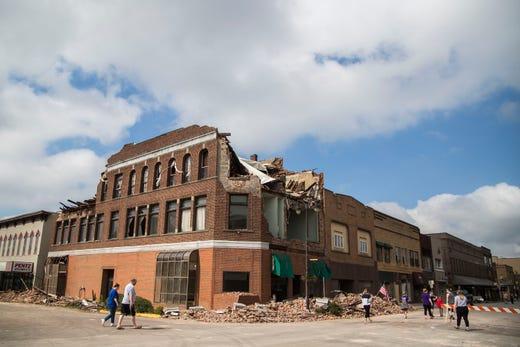 Iowa Weather Marshalltown Plans To Renovate Tornado